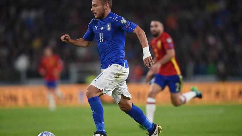 Qualificazioni mondiali: Macedonia-Italia, Immobile gol a 2,40