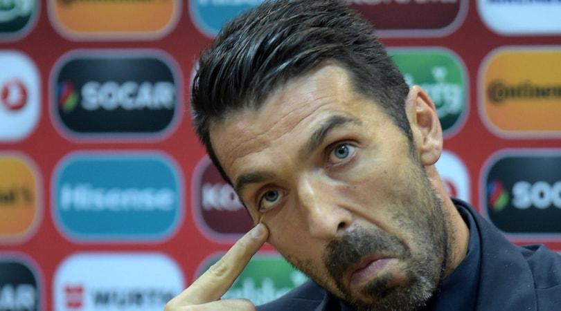 Italia Buffon Inaccettabili i fischi a Montolivo
