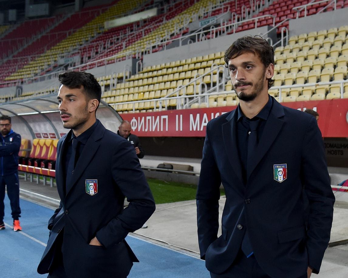Macedonia-Italia, Gabbiadini in tribuna: fuori per scelta tecnica
