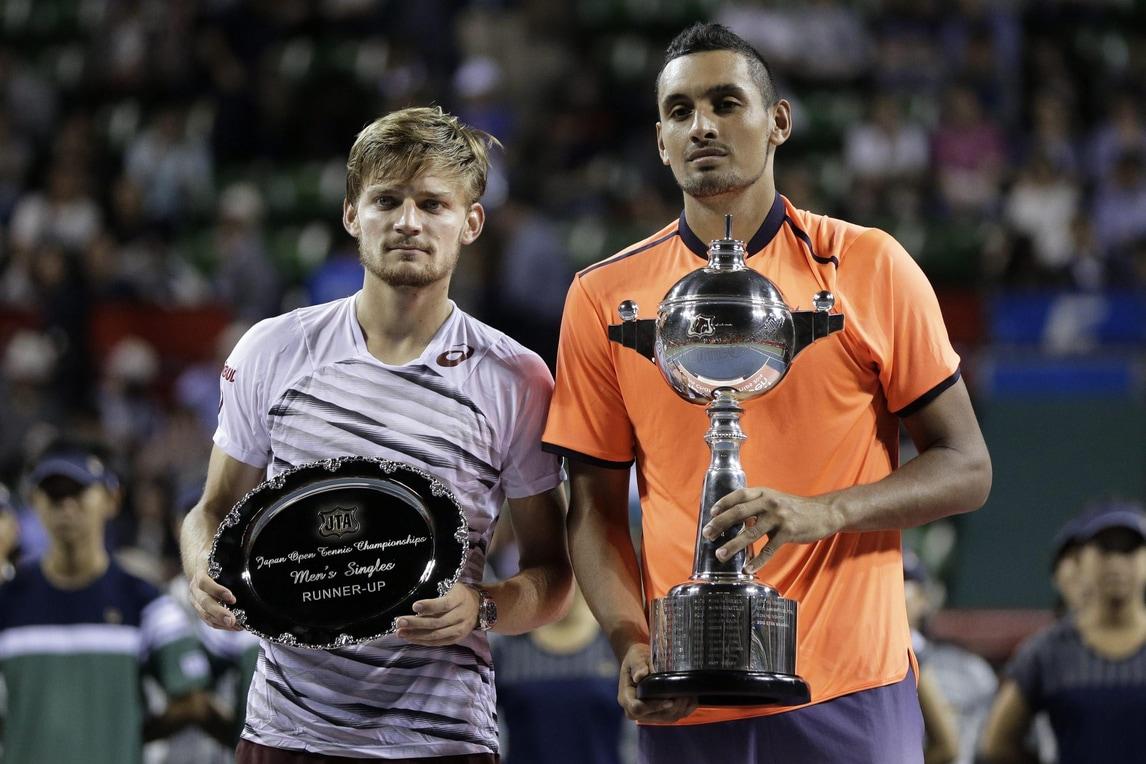 Tennis, Kyrgiosvince Japan Open: battuto Goffin in finale