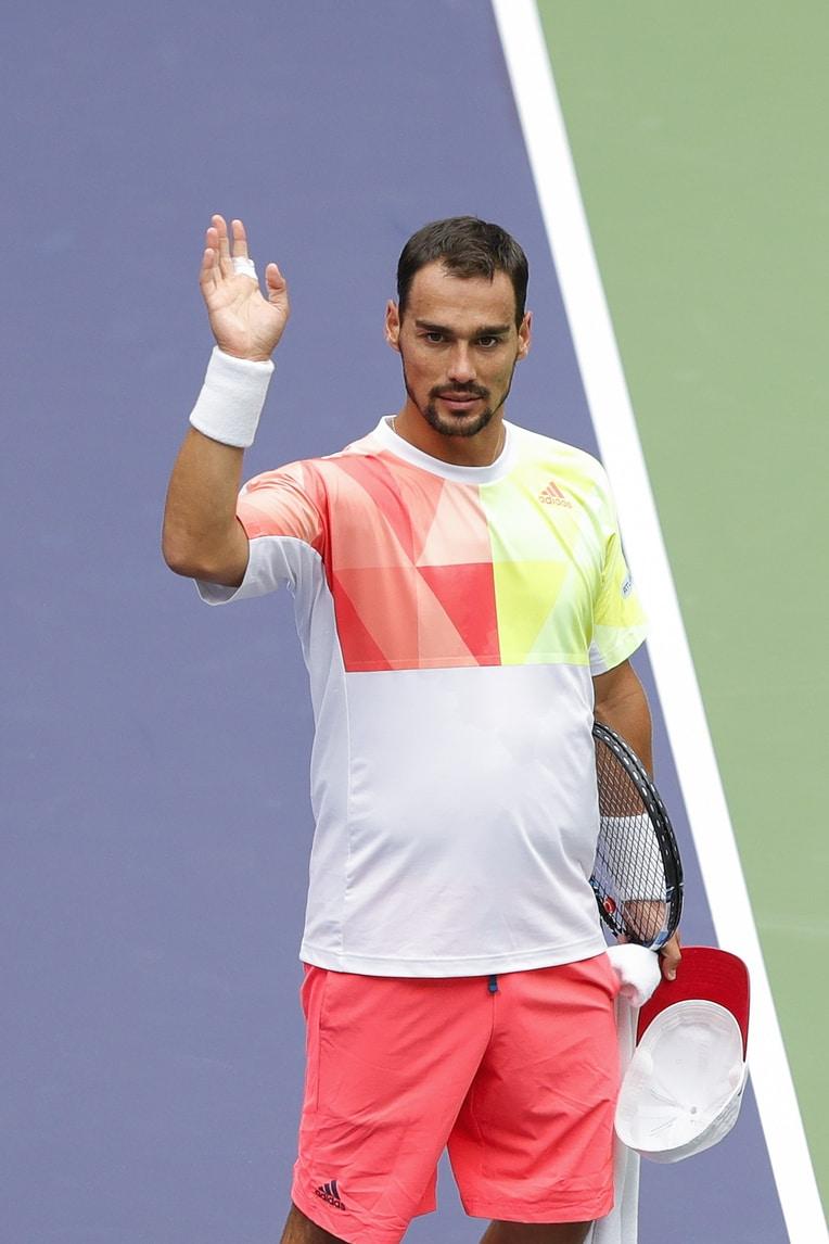 Tennis, Atp Shanghai: Fognini batte Vinolas e ora affronterà Djokovic
