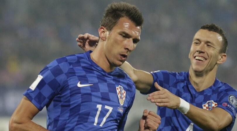 Mandzukic trascina ancora la Croazia, l'Ucrain