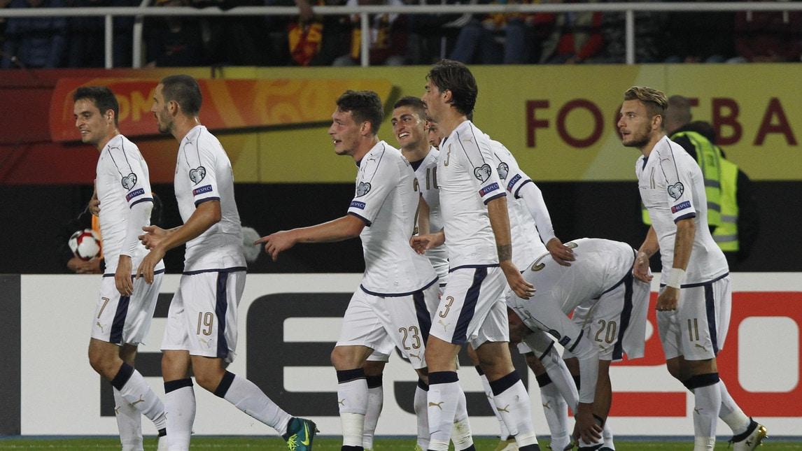 A Skopje l'Italia di Ventura vince in rimonta contro la Macedonia