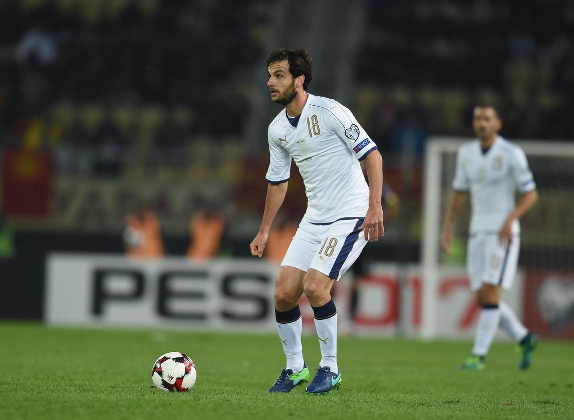 Moviola Macedonia-Italia: era buono il gol di Parolo, ok la rete bis di Immobile
