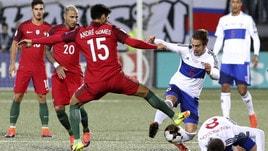 Isole Faroe-Portogallo 0-6: André Silva fa tris