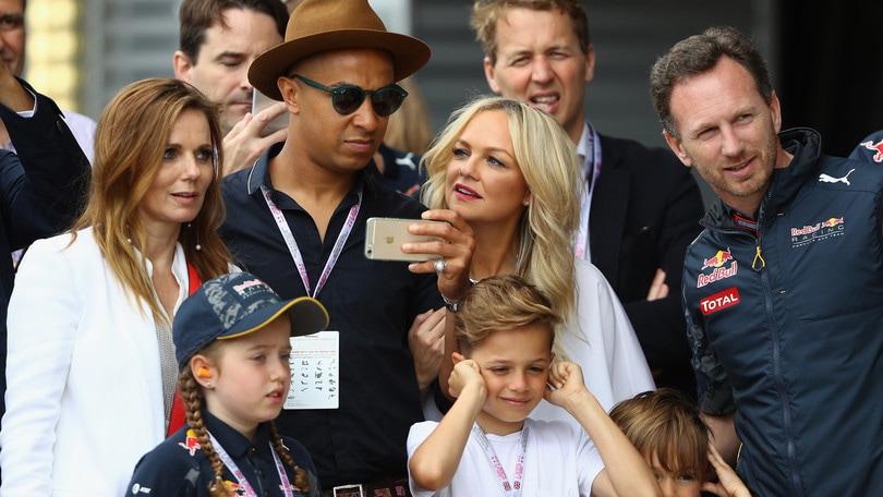 F1, festa in casa Red Bull: Horner diventa papà