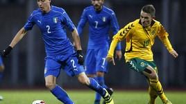 Lituania-Italia Under 21 0-0: il film della partita