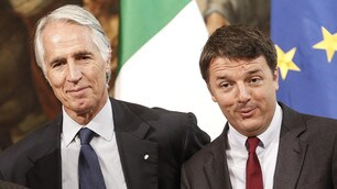 Roma 2024, Renzi e Malagò show in conferenza stampa