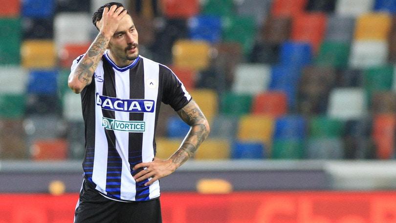 Udinese, lussazione alla spalla sinistra per Kone: rientra Widmer