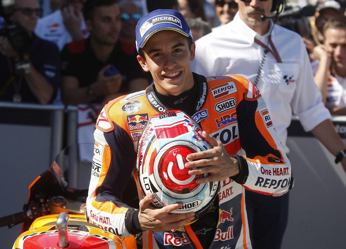 MotoGp Giappone, Marquez: «Dobbiamo pensare ai punti»