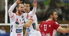 Volley: Superlega, domani l'anticipo fra Padova e Trento
