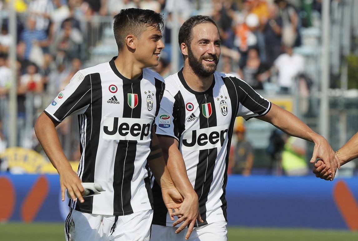 Serie A, Juventus: Dybala e Higuain rientrati a Vinovo