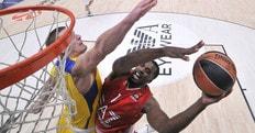 Eurolega: Hickman stoppa il Maccabi, festa Milano