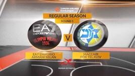 Olimpia Milano-Maccabi Tel Aviv 99-97