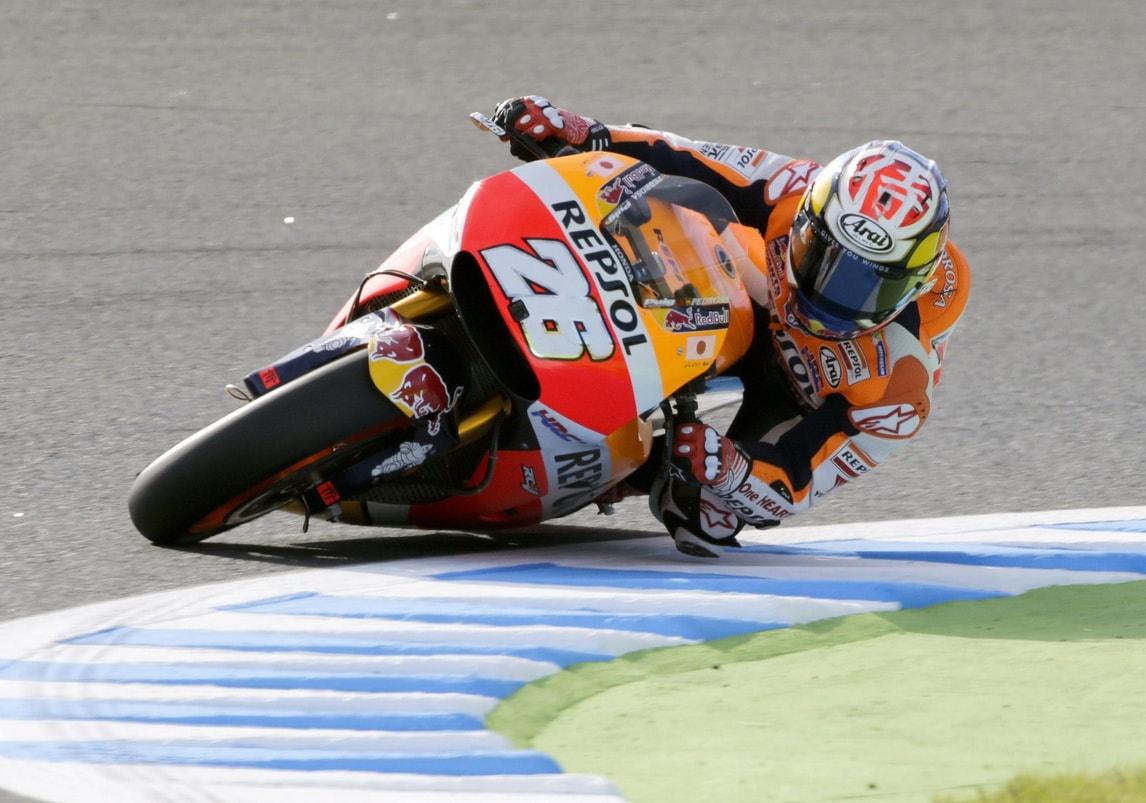 MotoGp, Giappone: Pedrosa salta gara, frattura alla clavicola destra