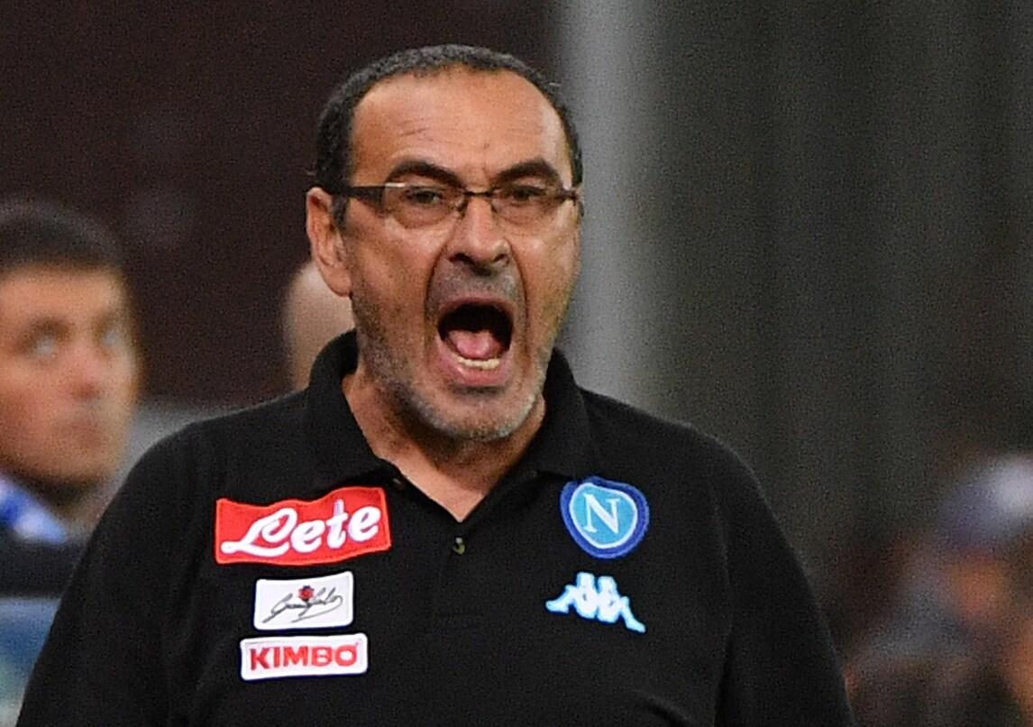 Serie A Napoli, Sarri: «La Juve? Non mi arrendo mai...»