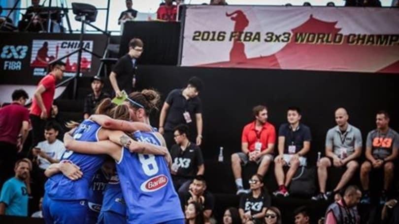 Basket Mondiale 3x3, Italia eliminata nella prima fase