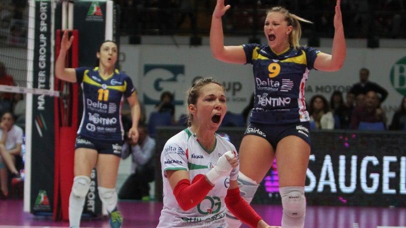 Volley: A2 Femminile,  domenica la 1a di campionato