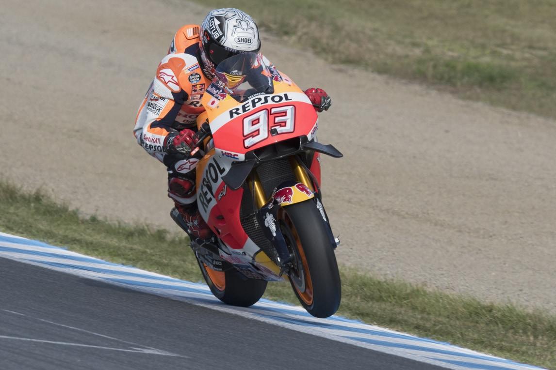 MotoGp Giappone, Marquez chiude in testa le libere