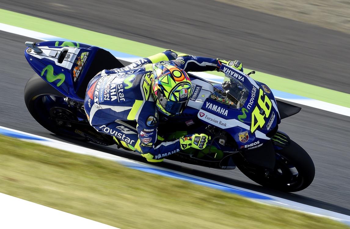 MotoGp Giappone: Rossi, che pole!