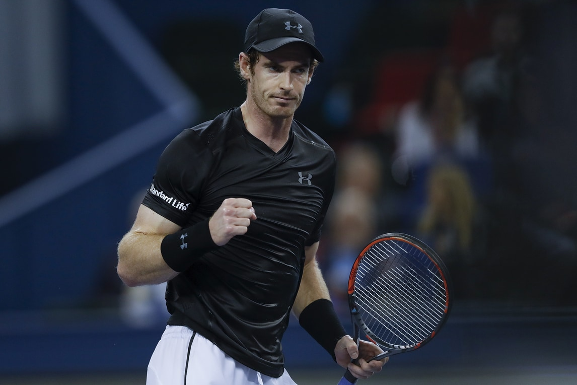 Tennis, Atp Shanghai: Murray in finale, Simon ko