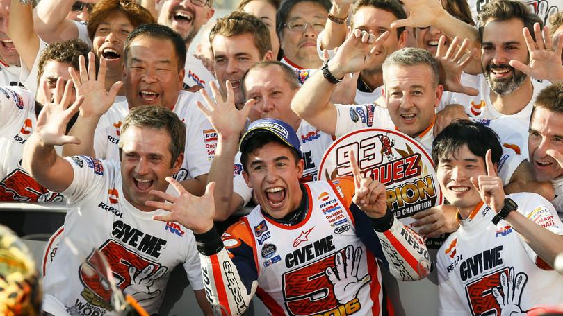 MotoGp Giappone, Suppo: «Marquez è stato incredibile»
