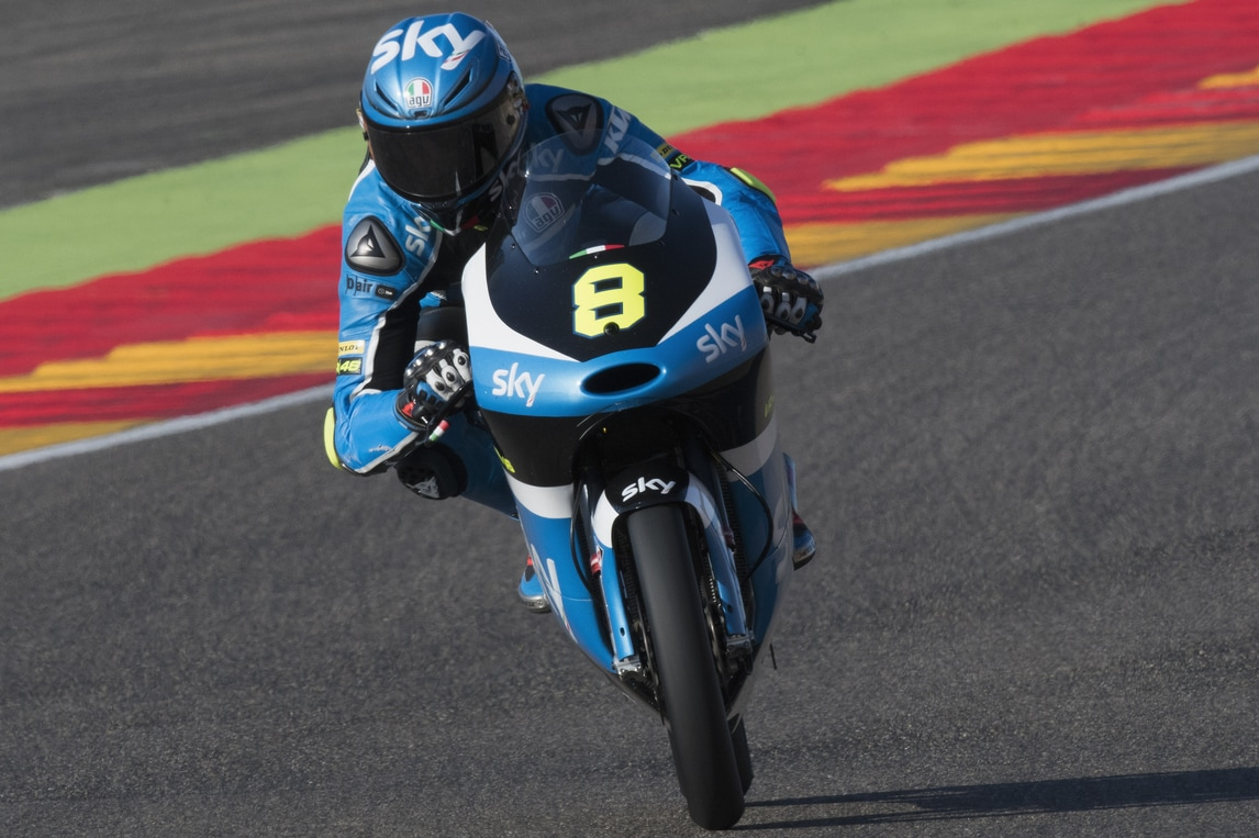Moto3, secondo podio in carriera per Bulega