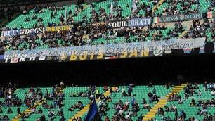 Serie A Inter, striscioni a San Siro contro Icardi