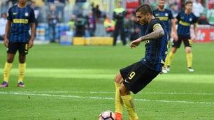 Serie A, Inter-Cagliari: Icardi fallisce un calcio di rigore