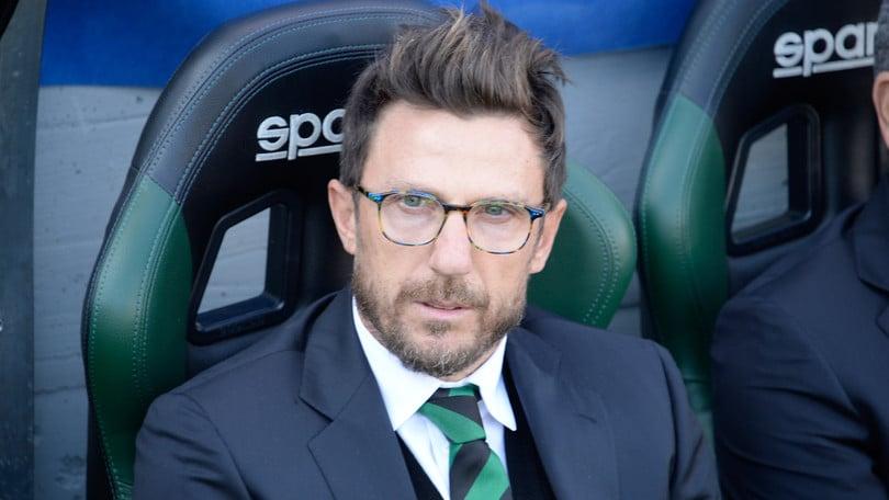 Serie A, Di Francesco: «Il Sassuolo ha vinto grazie al cuore»