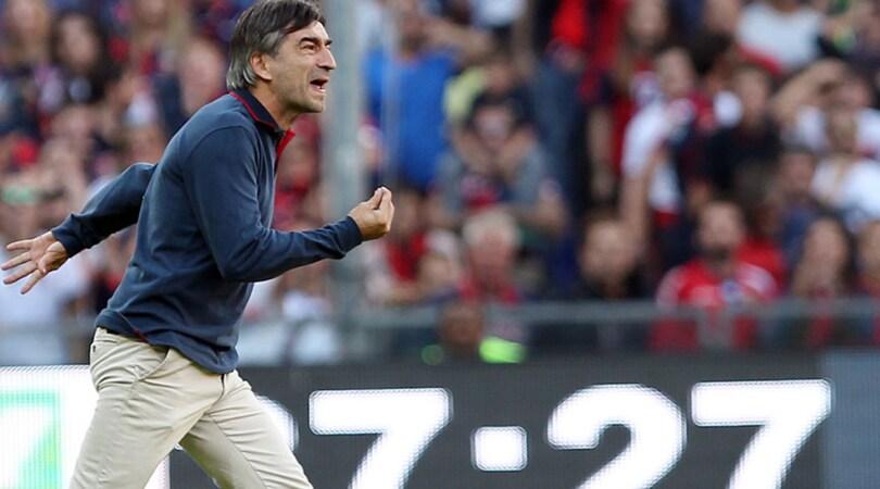 Serie A Genoa, Juric: «Arbitri, serve buonsenso»