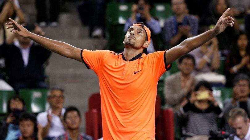 Tennis, Atp: otto settimane di sospensione per Kyrgios