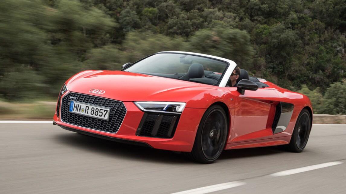 Audi R8 Spyder, foto e prezzi