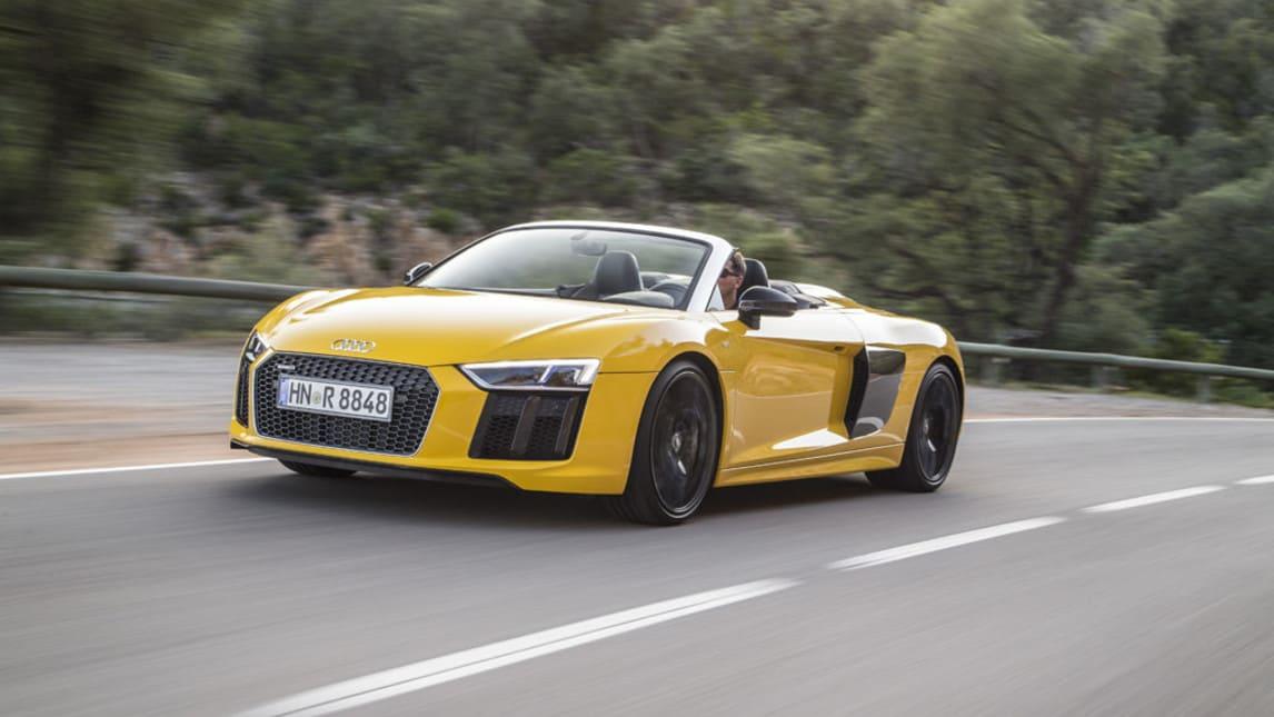 Audi R8 Spyder, gran turismo a cielo aperto: la prova
