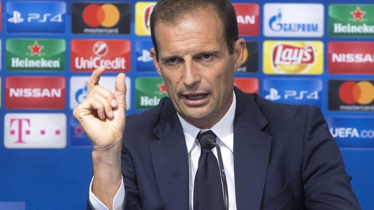 Champions League Juventus, Allegri: «A Lione con Dybala e Higuain»