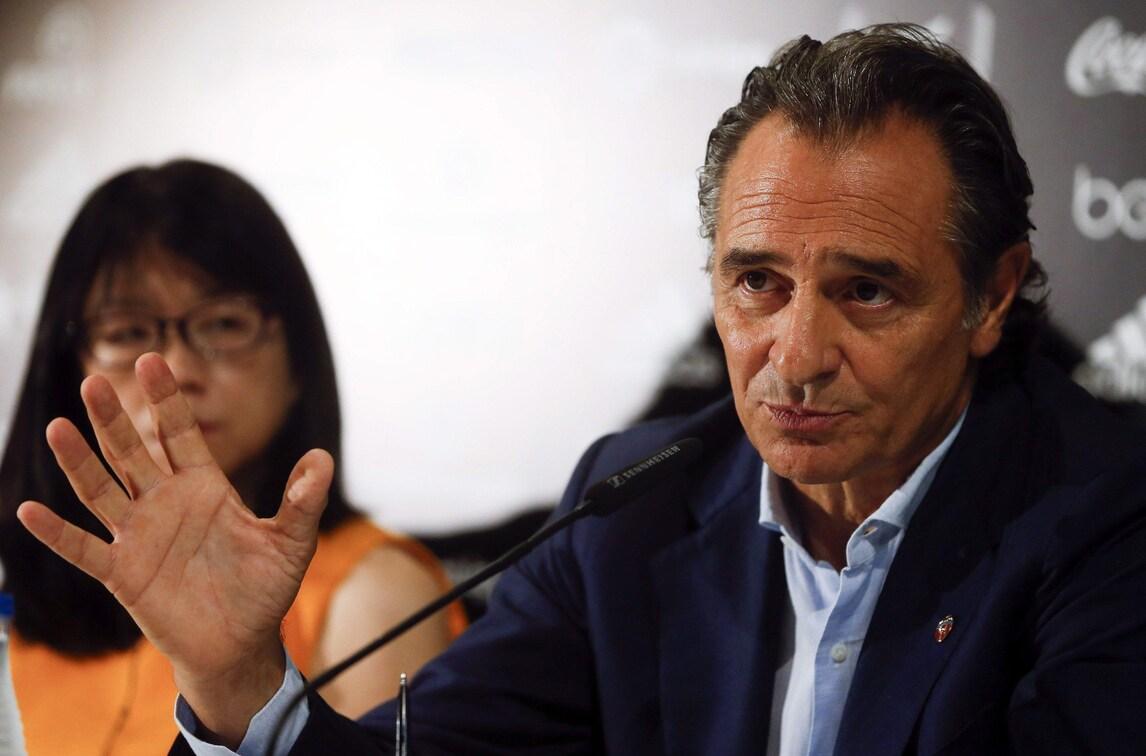 Prandelli: «Lotito? I dirigenti italiani dovrebbero farsi un esame di coscienza»
