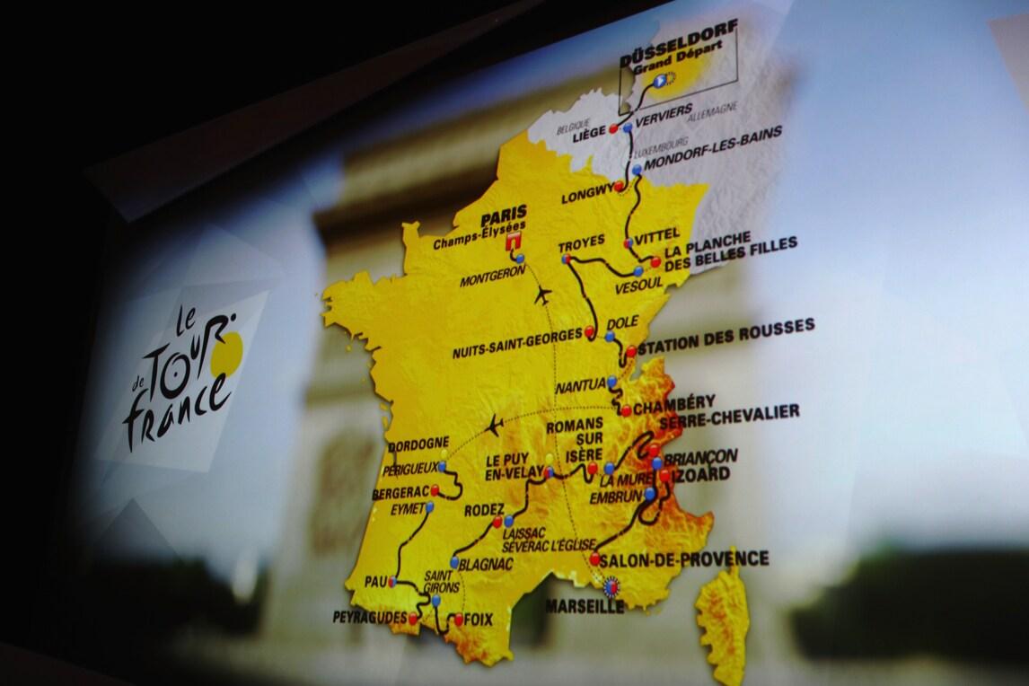 Ciclismo, il Tour de France 2017 partirà a Dusseldorf