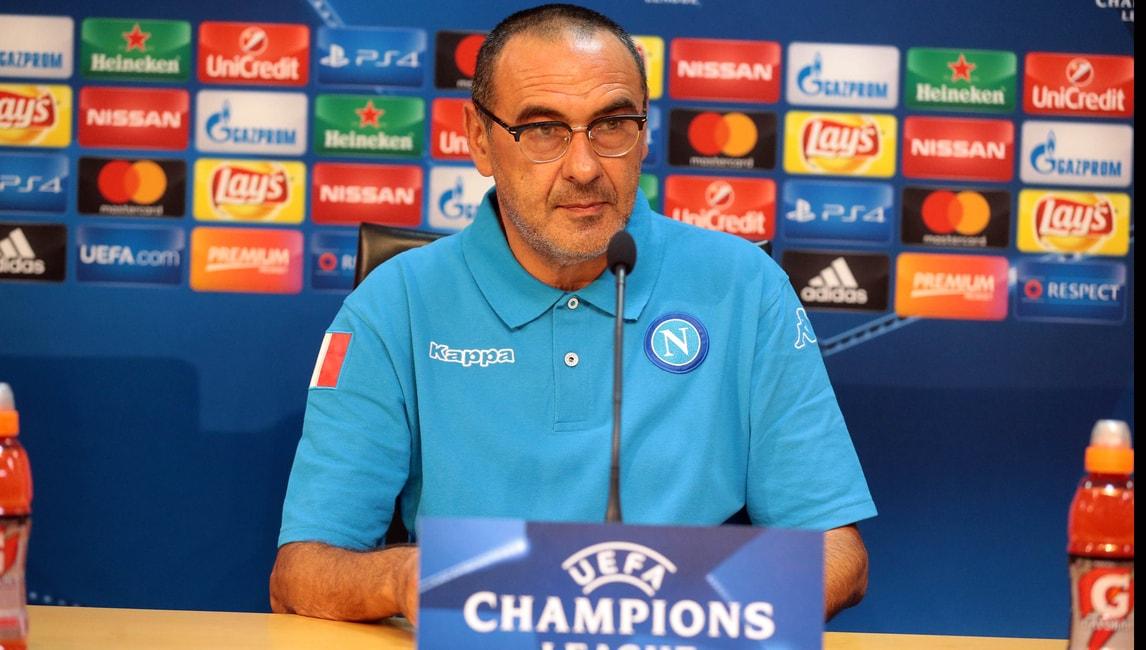 Champions League, Sarri: «Fiducia totale nel Napoli»