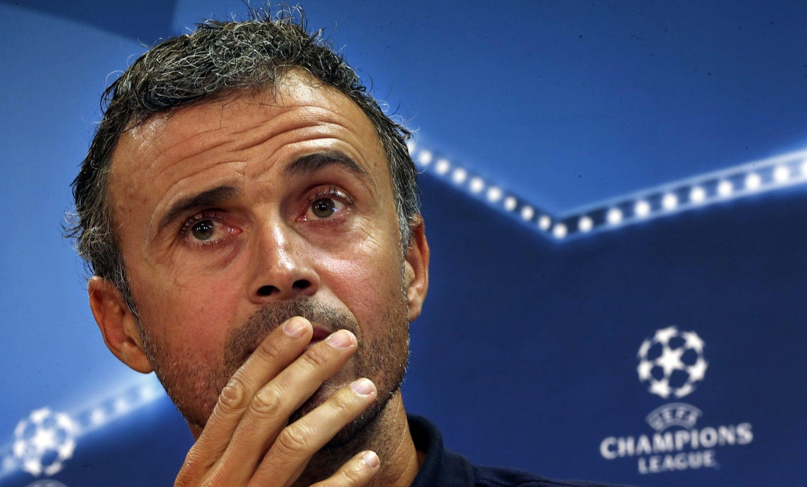 Champions, Luis Enrique: «Guardiola miglior allenatore contemporaneo»