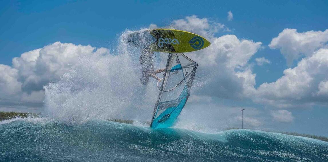 Morisio e il windsurf, sogno mondiale