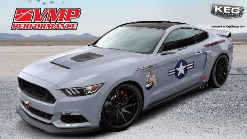 Ford Mustang, ecco le personalizzazioni per il SEMA 2016