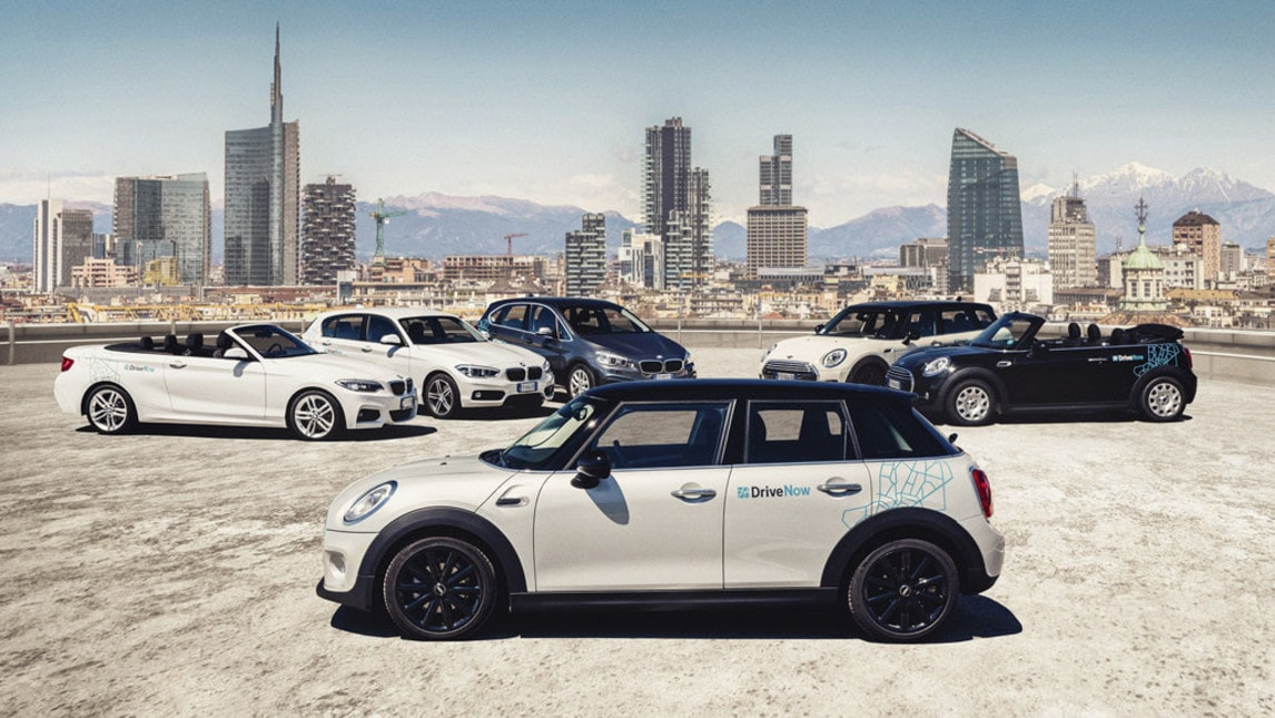 BMW DriveNow, il nuovo car sharing premium
