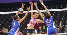 Volley: Mondiale per Club, la Pomì supera la Rexona al tie break