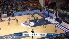 Champions, Sassari-Zielona Gora 74-70