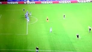Champions League, la fotosequenza del fuorigioco sul terzo gol del Besiktas