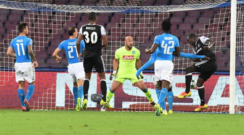 Champions League Napoli, Reina: «Il pubblico? È sacro, però mi piacerebbe che non fischiasse»