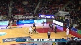 Varese, vittoria con tripla sulla sirena!