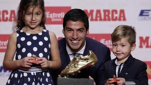 Barcellona, sorriso Suarez: conquistata la seconda Scarpa d'Oro