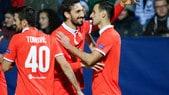 Europa League, Slovan Liberec-Fiorentina 1-3: doppietta di Kalinic e Babacar