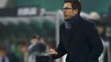 Europa League Sassuolo, Di Francesco: «Ottima gara. Contento dei miei ragazzi»